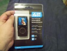 COBY MP601 4G 4 GB GO Digital Media MP3 Video Player 12 hour video NEW SEALED