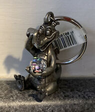 Disney Parks Figment Crystal Ball Pewter Keychain NWT