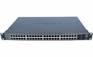 NETGEAR - GS748T - NETGEAR 48 PORT GIGABIT SMART SWITCH