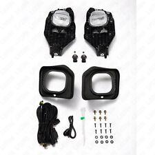 For 11-16 Ford F250 F350 F450 F550 XLT Super Duty CLEAR Lens Fog Light w/Switch
