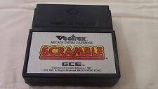 Scramble Vectrex Gce Game Cartridge - Tested!
