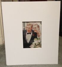 Romantic Occasions/Wedding Photo Album by Burnes, 50 page Combo Style, Pre-Owned