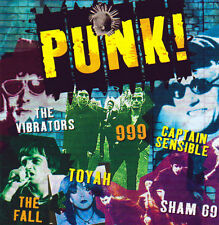 PUNK - VARIOUS ARTISTS - SHAM 69-THE FALL & more NEW CD