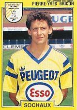 # 250 pierre-yves bricon cf. sochaux panini sticker football 92 sticker 1992
