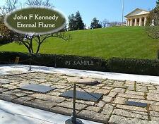 Virginia - JFK KENNEDY GRAVE at ARLINGTON CEMETERY  - Fridge Magnet