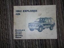 1992 Ford Aerostar Mini Van Elektrisch Wiring Diagrams Service Shop Manuell Ewd