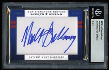 2012 Leaf Sports Icons Authentic Cut Auto ~ WALT BELLAMY ~ #6/6