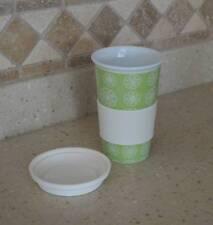 Reusable Ceramic Coffee/Tea Travel Cup, 12 ounces