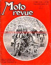 MOTO REVUE 1935 SUZUKI T 125 et T 500 II ; Jean AUREAL ; Tourist Trophy TT 1969