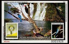 BOLIVIA, MICHEL # BLK216 MINI SHEET OF PRESERVATION & CONSERVATION OF NATURE,MNH
