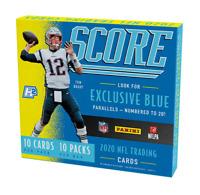2020 Panini Score Football Hobby Hybrid Box