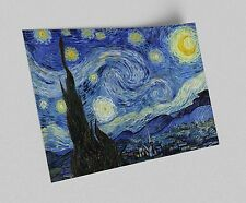 ACEO Vincent van Gogh Starry Night Canvas Giclee Print