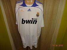"""Real Madrid Original Adidas Heim Trikot 2007/08 """"bwin"""" Gr.XXL Neu"""