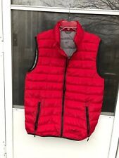 MENS ELEVATE TEK SYSTEMS VEST RED SIZE M