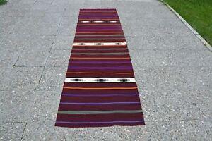Turkish Vintage Rug, Faded Rug, Floor Rugs, Runner Area Rug, Gift Rug, Runner Ru