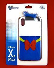 Disney Park D-Tech iPhone Case 10 XS Max ✿ Donald Duck Classic Sailor Hat Bow 3D
