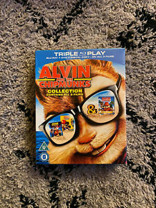 Alvin and the Chipmunks 3 Film Collection BRAND NEW SEALED BLU RAY