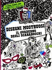 Disegni mostruosi. Il quaderno scarabocchi - Monster High - Ed. NordSud