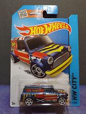Hot Wheels '67 AUSTIN MINI VAN 2014 HW City No.# 27/250. Long card.