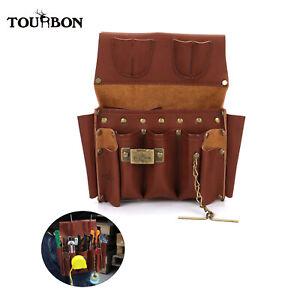 TOURBON Tool Holder Gear Pouch Pliers Tool Organizer Bag Electrician Woodworker