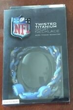 "CHARGERS NFL Twisted Titanium Sport Necklace 21"" NIP MSRP $35.01 NEW"