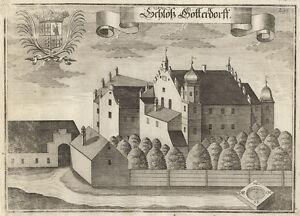 Osterhofen-Göttersdorf. - Kupferstich/Wening, um 1750