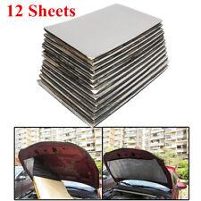12 Blatt Drei-Schicht-Schaumstoff-Laminatdämmung Schallisolierung für Autos