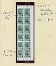 Jamaica 1969 Overprint Varieties & Flaws - 2c SG281, Damaged E and NR