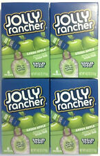 4x JOLLY RANCHER GREEN APPLE DRINK MIX SINGLES TO GO SUGAR FREE (24 PACKETS)
