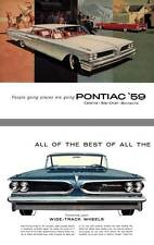 Pontiac 1959 - People are going places are going Pontiac '59