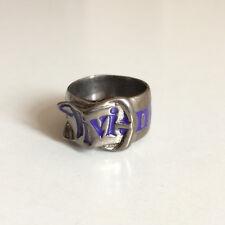 """Vivienne Westwood Vintage """"ceinture"""" Ring (Violet/Noir) Brandnew"""