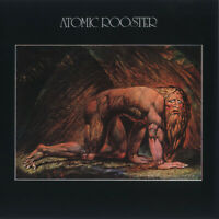 ATOMIC ROOSTER - Death Walks Behind You CD issue of great 1970`s UK Prog Rock LP