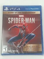 New & Sealed Marvel Spider-man Game Of The Year Edition for PS4 PlayStation 4