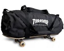 Thrasher Magazine SKATE BAG Skateboard Duffle Bag BLACK