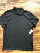 Alfani Men's Short Sleeve Polo Shirt Size L