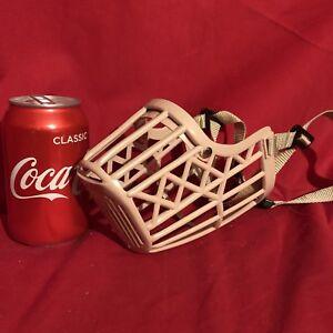 Dog Muzzle X LARGE Strong Safety Cage Basket Adjustable Strap Labrador Retriever