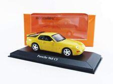 Porsche 968 cs 1993 yellow maxichamps 940062321 1/43 minichamps gelb metal