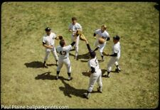 Original 35MM Color Slide 1972 New York Yankees, Playing Flip