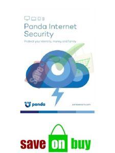 Panda Antivirus or Panda Internet Security 2021 - 5 User, 1 Year