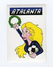 figurina CALCIO FLASH 1988 SCUDETTO ATALANTA