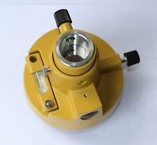 TOPCON THREE-JAW YELLOW TRIBRACH ADAPTER WITHOUT OPTICAL, FOR TOTAL STATIONS