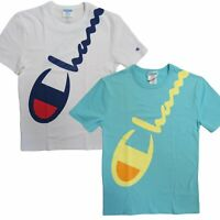 Champion Life Men's Heritage Tee, Wraparound Logo Short Sleeve T-Shirt