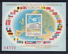 5002 ) Romania 1983 - KSZE Madrid