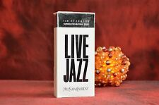 Yves Saint Laurent LIVE JAZZ EDT 100ml VINTAGE, DISCONTINUED, VERY RARE, NEW