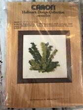 Caron Ferns Hallmark Design Collecton Vintage Crewel Kit Collectible