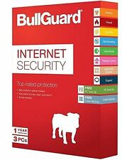 BullGuard Internet Security Windows 10, 8 & 7 - 3 PCs - 1 year Licence