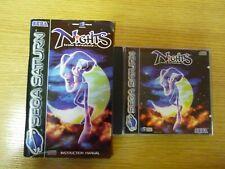 Sega Saturn Spiel NIGHTS INTO DREAMS  PAL aus Sammlung Sehr gut