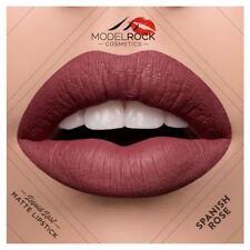 MODELROCK Liquid to Matte Lipstick SPANISH ROSE model rock last vegan