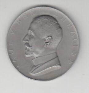 Médaille Paul De Large Ruisseau Train 1914