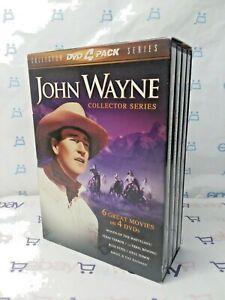 John Wayne - Collector Series 4-Pack (DVD, 2000, 4-Disc Set) - FREE SHIPPING